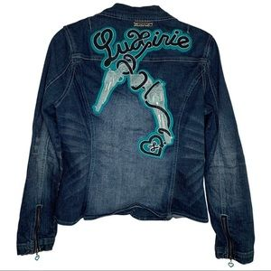 Luxirie by LRG | Patch | Jean Jacket| XL